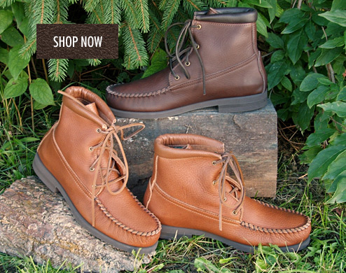 Men's Durable Leather Footwear