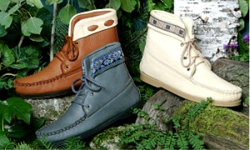 Handcrafted Moccasin Deerskin Boots