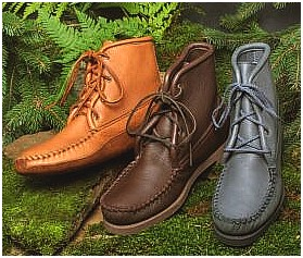deerskin boots handcrafted by American Craftsmen