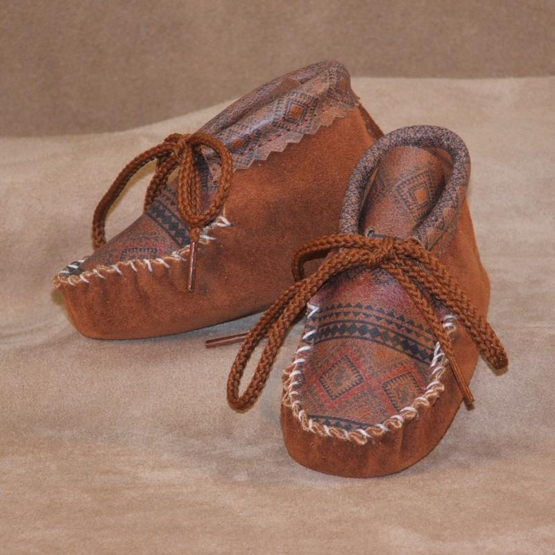 Infants Aztec Suede