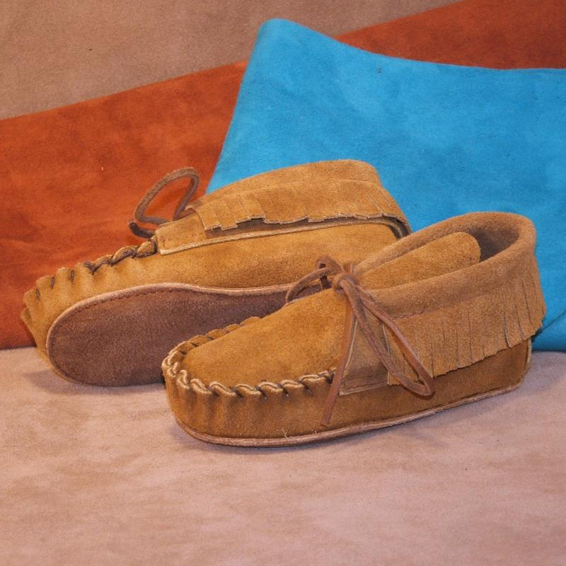 Children's Moccasins \u0026 Shoes Made In